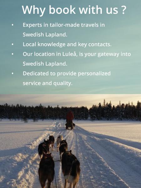Incoming touroperator Swedish Lapland