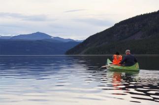 Summer activities - canoeing