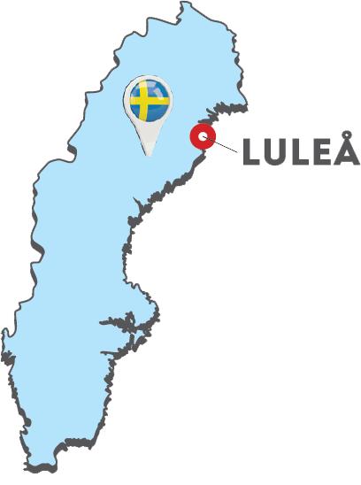 lulea travel map